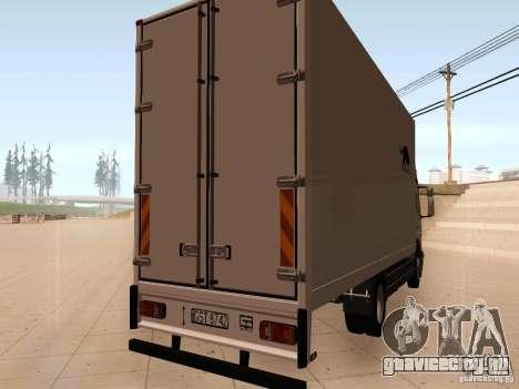 Mercedes-Benz Atego для GTA San Andreas вид справа