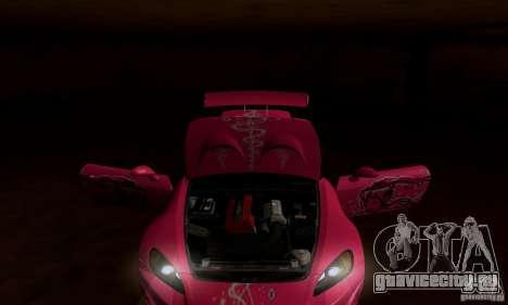 Honda S2000 The Fast and the Furious 2 для GTA San Andreas