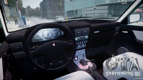 ГАЗ-31105 для GTA 4 вид сзади