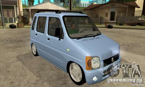 Suzuki Karimun GX для GTA San Andreas вид сзади