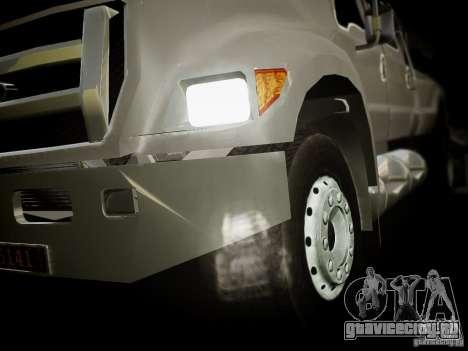 Ford F-650 Super Crewzer для GTA 4 вид сзади слева