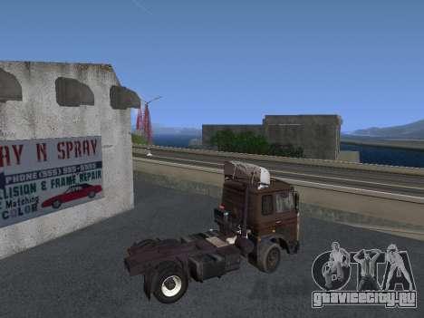 МАЗ 5551 Колхоз для GTA San Andreas вид сзади слева