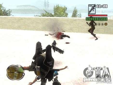Robot из Portal 2 №2 для GTA San Andreas третий скриншот