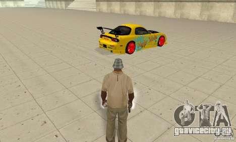 Сверхестественные способности CJ-я для GTA San Andreas второй скриншот