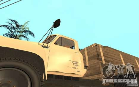 ГАЗ-52 для GTA San Andreas вид сверху