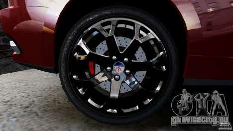 Maserati Gran Turismo 2008 Beta для GTA 4 вид справа