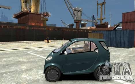 Smart For Two для GTA 4 вид слева