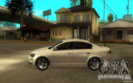 Volkswagen Passat 2.0 TDI Bluemotion 2011 для GTA San Andreas вид слева