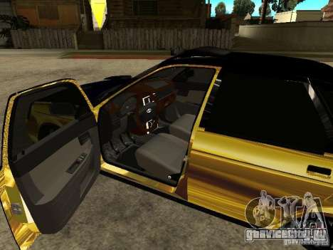 Lada 2170 Priora GOLD для GTA San Andreas вид справа