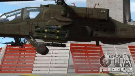 AH-64D Longbow Apache v1.0 для GTA 4 вид сзади