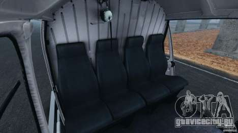 Eurocopter AS350 Ecureuil (Squirrel) для GTA 4 вид изнутри