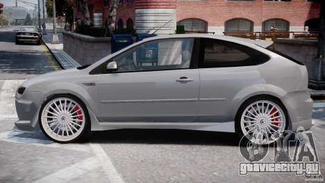 Ford Focus ST (X-tuning) для GTA 4 вид слева