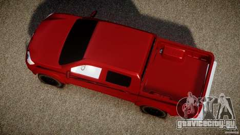 Toyota Hilux 2010 для GTA 4 вид справа