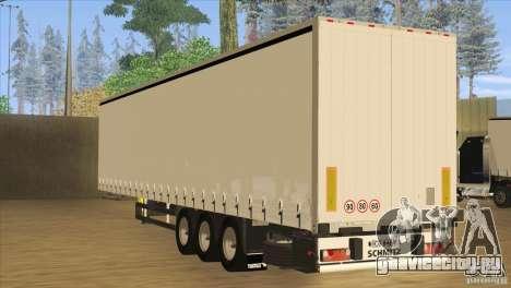 SchmitZ Cargobull для GTA San Andreas вид сзади слева