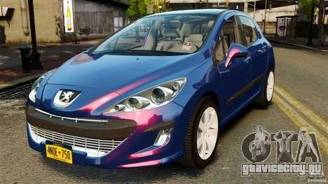 Peugeot 308 2007 для GTA 4