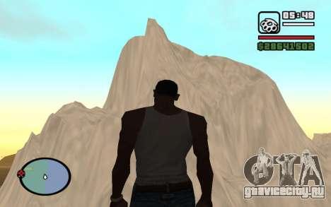 Mountain map для GTA San Andreas