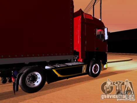 Mercedes Benz Actros MP4 для GTA San Andreas салон