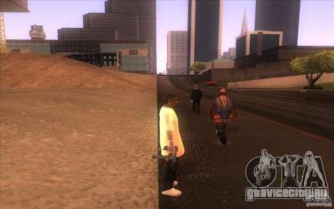 Новый качественный скин для GTA San Andreas третий скриншот