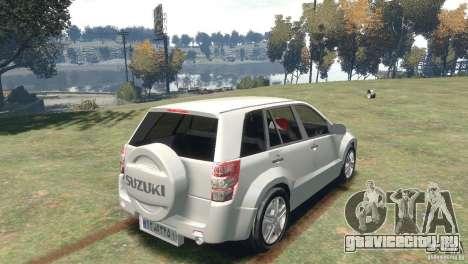Suzuki Grand Vitara для GTA 4 вид слева