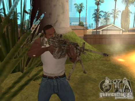 Пулемёт MK-48 для GTA San Andreas четвёртый скриншот