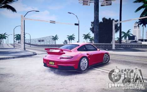 Porsche 977 GT2 для GTA 4 вид слева