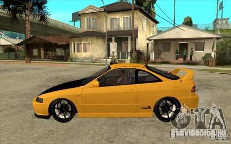 Honda Integra Spoon Version для GTA San Andreas вид слева