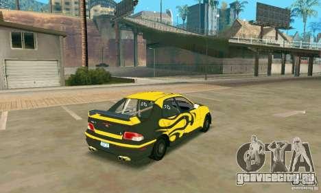 INSETTA из FlatOut 2 для GTA San Andreas вид слева