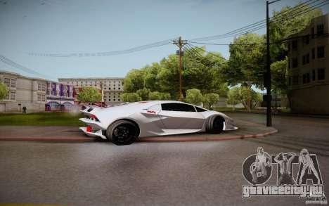 Lamborghini Sesto Elemento для GTA San Andreas вид справа