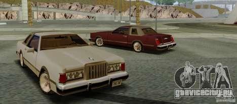 Virgo Continental для GTA San Andreas вид сзади слева