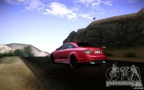 Mercedes Benz CL65 AMG для GTA San Andreas вид справа