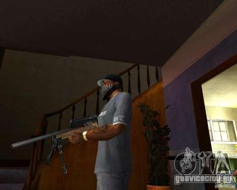 Винтовка M24 для GTA San Andreas второй скриншот