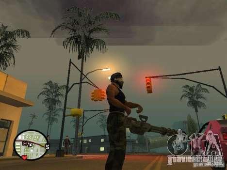 Миниган М134 из CoD:Mw2 для GTA San Andreas пятый скриншот