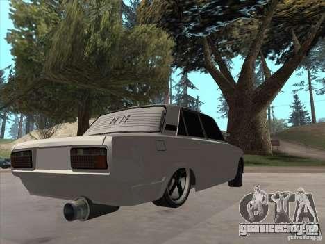 ВАЗ 2105 Light Tuning для GTA San Andreas вид слева