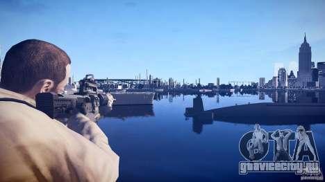 Новая М4 для GTA 4 второй скриншот