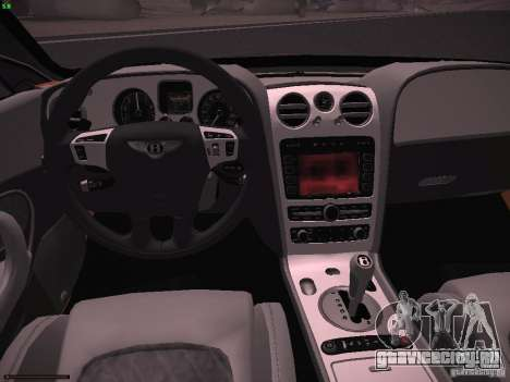 Bentley Continetal SS Dubai Gold Edition для GTA San Andreas вид сзади
