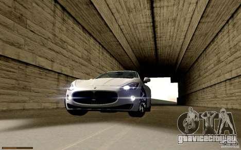 Maserati Gran Turismo 2008 для GTA San Andreas вид снизу