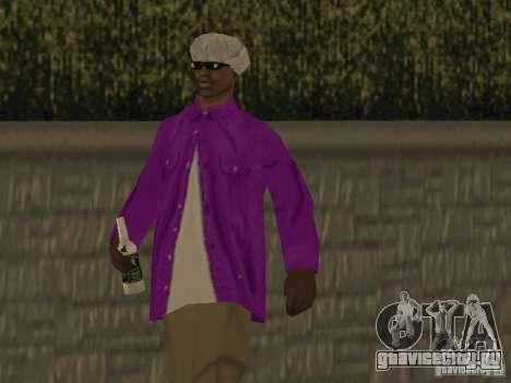 Новые скины Баллас для GTA San Andreas четвёртый скриншот
