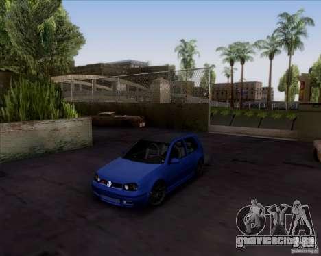 Volkswagen Golf GTi 2003 для GTA San Andreas
