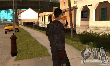 Dante из Devil May Cry для GTA San Andreas пятый скриншот