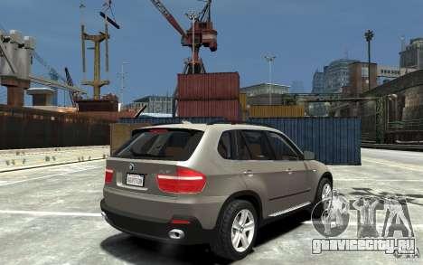 BMW X5 2009 для GTA 4 вид справа