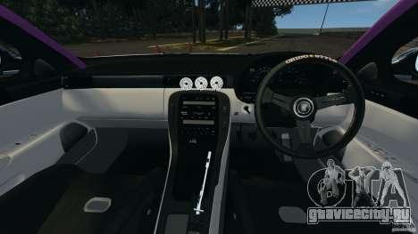 Toyota Soarer Drift для GTA 4 вид сзади