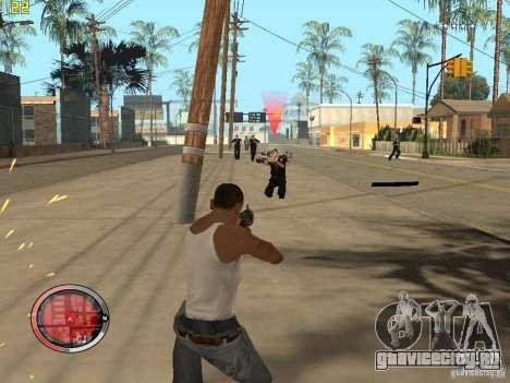 Дополнение к GTA IV HUD для GTA San Andreas восьмой скриншот