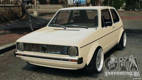 Volkswagen Golf Mk1 Stance для GTA 4