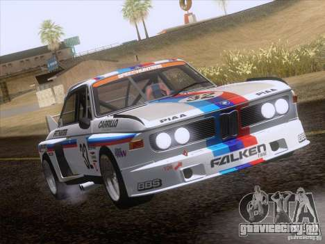 BMW CSL GR4 для GTA San Andreas вид изнутри