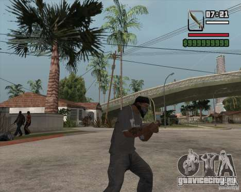 Steep Knife для GTA San Andreas второй скриншот