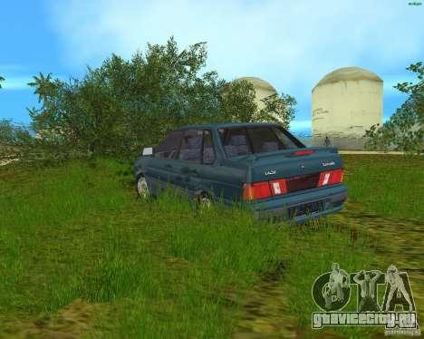 Lada 2115 для GTA Vice City вид слева