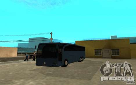 Mercedes-Benz Travego для GTA San Andreas вид сзади слева
