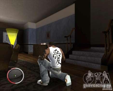 Новая майка для CJ для GTA San Andreas