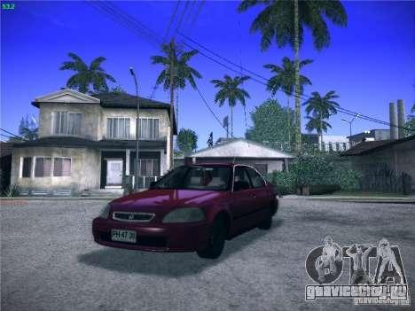 Honda Civic Sedan 1997 для GTA San Andreas