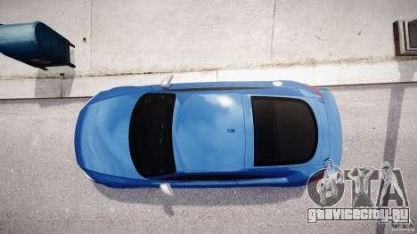 Audi TT RS Coupe v1 для GTA 4 вид сверху